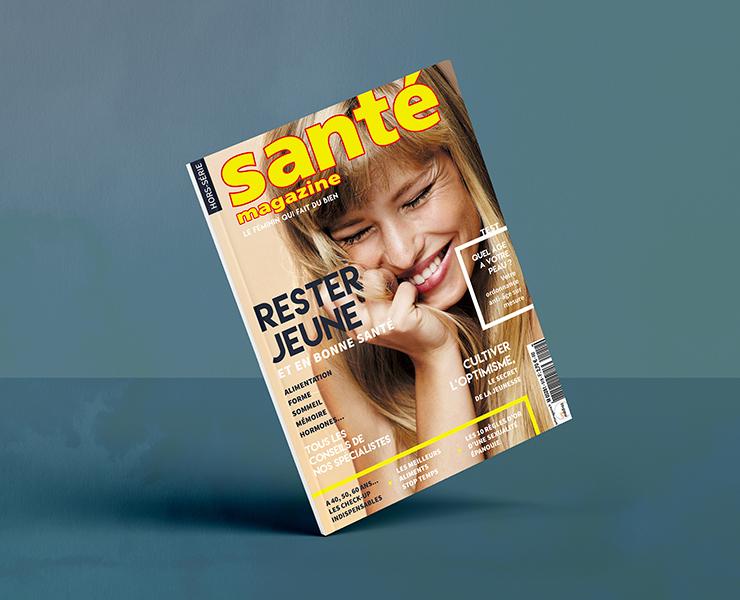 Couverture de magazine Hors série – Santé Magazine